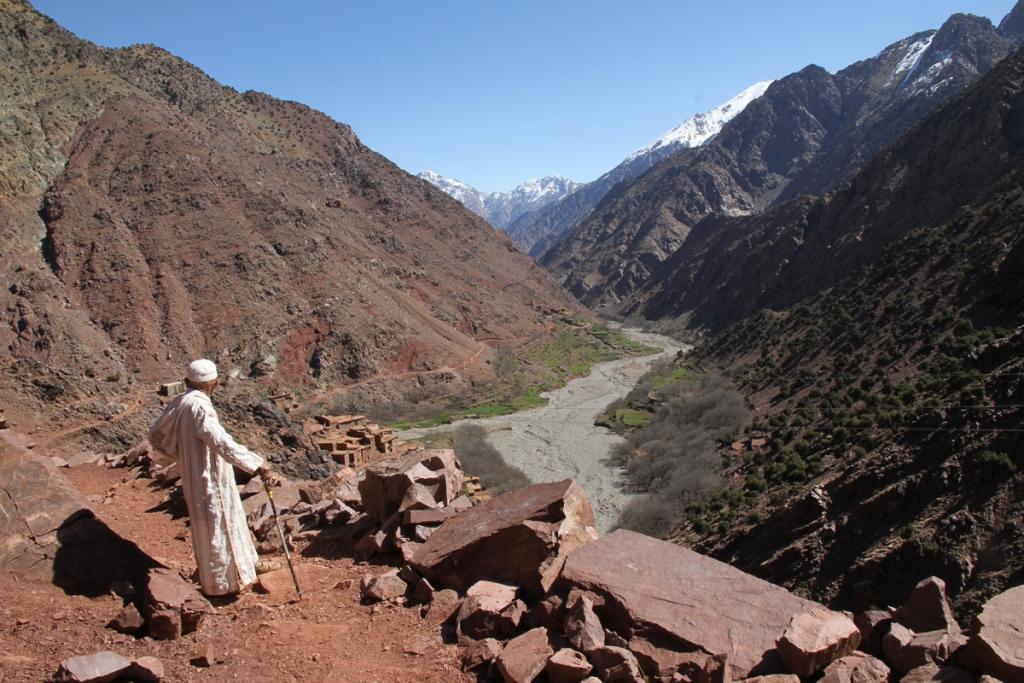 Valley to Setti Fatma